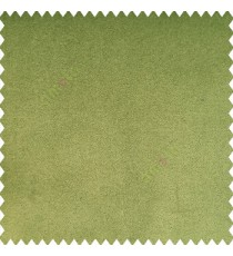 Basil green color complete plain velvet finished soft touch surface polyester base sofa fabric