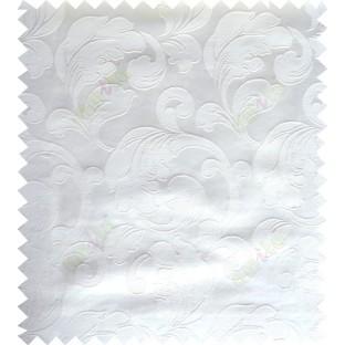 White cream color traditional design polycotton main curtain designs