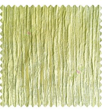 Greenish yellow color vertical embossed bold lines horizontal texture lines 3D patterns crush designs polyester main curtain