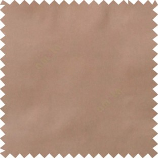 Dark chocolate brown color complete plain surface designless with polyester thick background satin finished main curtain