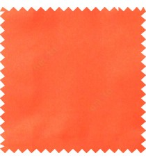Orange color complete plain surface designless with polyester thick background satin finished main curtain