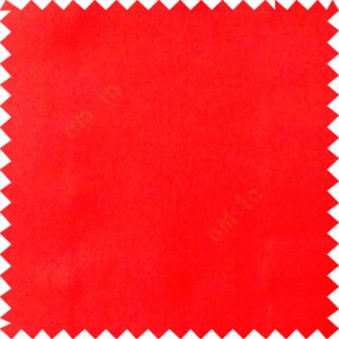 Red color complete plain surface designless with polyester thick background satin finished main curtain