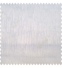 Pure white color vertical ornament short sticks texture finished background polyester main curtain