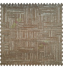 Brown grey black color vertical and horizontal lines texture background fabric geometric patterns polyester main curtain
