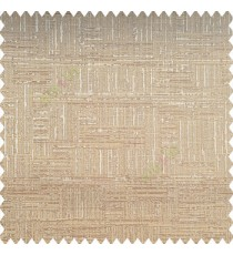 Light brown beige color vertical and horizontal lines texture background fabric geometric patterns polyester main curtain