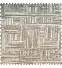 Light brown brownish grey color vertical and horizontal lines texture background fabric geometric patterns polyester main curtain