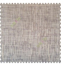 Grey brown beige color vertical ornament short sticks texture finished background polyester main curtain