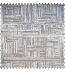 Blue grey color vertical and horizontal lines texture background fabric geometric patterns polyester main curtain