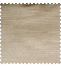 Grey color solid plain embossed horizontal lines thick fabric polyester composition main curtain
