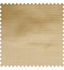 Beige color solid plain embossed horizontal lines thick fabric polyester composition main curtain