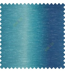 Blue cream color vertical color shades texture lines raining drops polyester transparent net finished sheer curtain