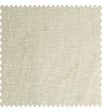Cream color complete texture finished polyester transparent base net fabric sheer curtain