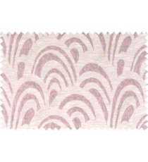 Pink beige grey colour beautiful abstract pattern polycotton main curtain designs   113358