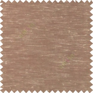 Brown color solid plain finished surface designless complete pattern free transparent net surface sheer curtain fabric