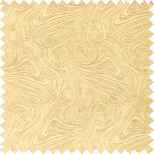 Gold and brown color combination abstract design rock layers texture finished  random flowing lines polycotton main curtain