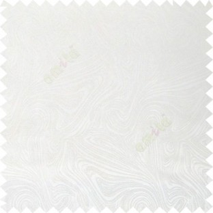 White color combination abstract design rock layers texture finished  random flowing lines polycotton main curtain