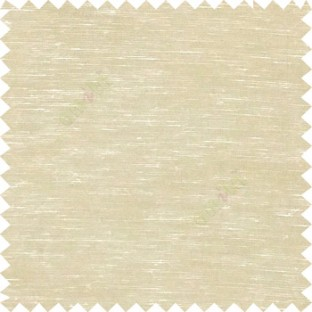 Beige color solid plain finished surface designless complete pattern free transparent net surface sheer curtain fabric