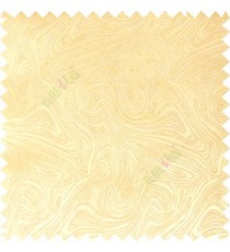 Light brown color combination abstract design rock layers texture finished  random flowing lines polycotton main curtain