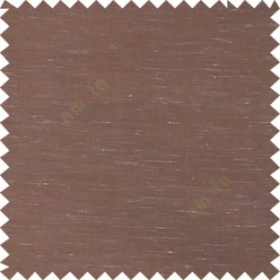 Dark brown color solid plain finished surface designless complete pattern free transparent net surface sheer curtain fabric