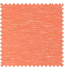 Orange color solid plain finished surface designless complete pattern free transparent net surface sheer curtain fabric