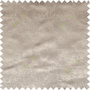 Brown color solid texture fab poly main curtain - 113592