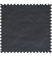 Black color solid texture fab poly main curtain - 113607