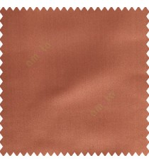 Dark copper brown color complete plain designless polyester background thick base fabric main curtain