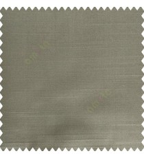 Grey color complete plain designless polyester background thick base fabric horizontal embossed lines main curtain