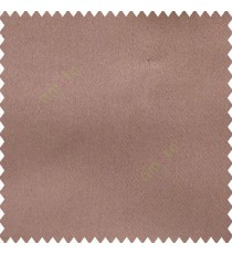 Brownish purple color complete plain designless polyester background thick base fabric main curtain