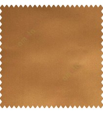 Golden brown color complete plain designless polyester background thick base fabric main curtain