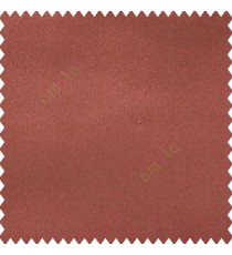 Copper brown color complete plain designless polyester background thick base fabric main curtain