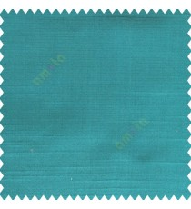 Aqua blue color complete plain designless polyester background thick base fabric horizontal embossed lines main curtain