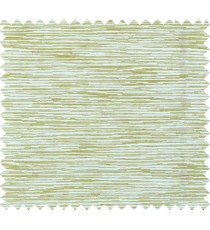 Green beige colour horizontal stripes poly main curtain designs