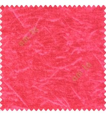 Bright pink color self design texture lines curved soft velvet finished poly sofa fabric