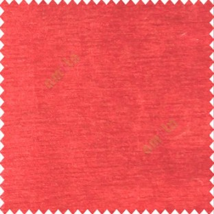 Solid Bright Red Color Velvet Finished Soft Touch Shiny Material Poly Sofa Fabric