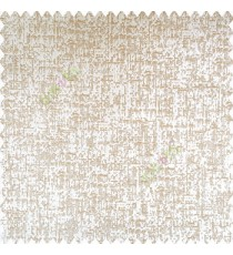 Beige gold color complete texture finished surface horizontal and vertical rough random lines polyester base fabric main curtain
