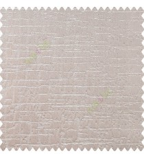 Grey silver color vertical and horizontal texture stripes checks weaving patterns embossed designs polyester base fabric main curtain