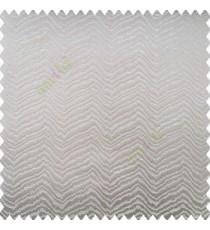 Grey silver color horizontal zigzag texture flowing lines weaving thin patterns polyester base thick fabric main curtain