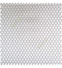 Black grey color geometric designs texture finished background hexagon patterns polyester base thick fabric main curtain