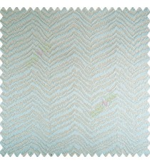 Blue gold color horizontal zigzag texture flowing lines weaving thin patterns polyester base thick fabric main curtain