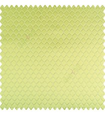 Green silver color geometric designs texture finished background hexagon patterns polyester base thick fabric main curtain