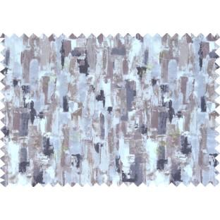 White black brown purple beautiful oil painting finish pure cotton main curtain designs