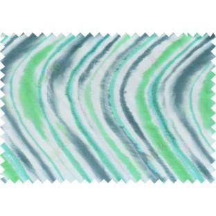 Green white grey colour wild skin stripes pure cotton main curtain designs