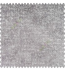 Grey silver color complete texture gradients finished horizontal weaving lines embossed pattern polyester main curtain