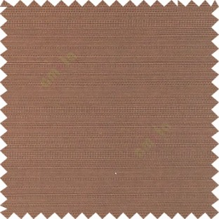 Brown color solid plain surface texture finished horizontal lines polyester main curtain