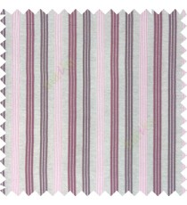 Light and dark purple combination with silver base color vertical embossed stripes texture finished surface polyester main curtain