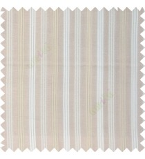 Brown beige gold combination with silver base color vertical embossed stripes texture finished surface polyester main curtain