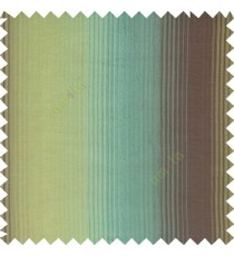 Blue brown green color vertical embossed stripes texture finished surface polyester main curtain