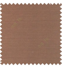 Dark brown color solid plain surface texture finished horizontal lines polyester main curtain