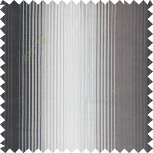 Black silver color vertical embossed stripes texture finished surface polyester main curtain